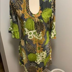 Women's Aryeh Print Dress Size Small